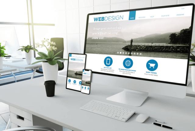 עיצוב אתרים, בניית אתר דינמי