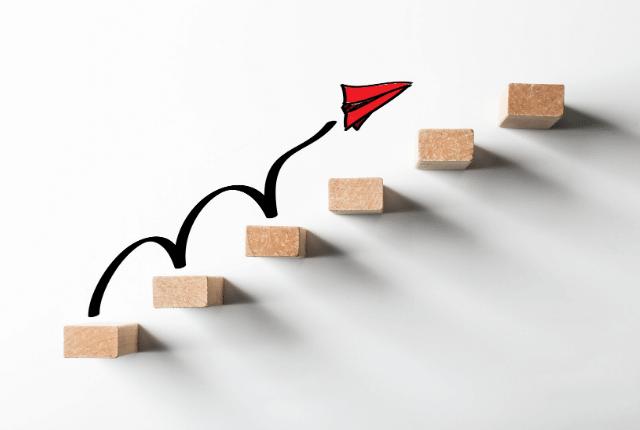 הצלחה, מדרגות צמיחה
