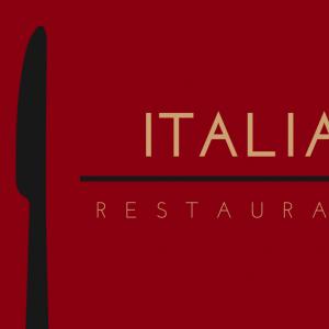 כרטיסי ביקור למסעדה איטלקית - BIZZT